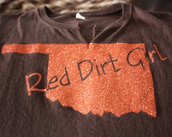 Oklahoma Red Dirt Girl Clothes