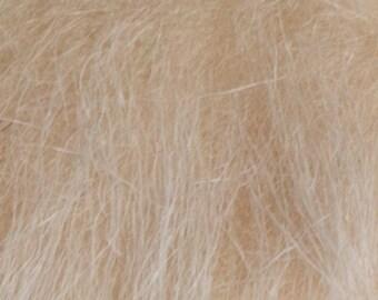 Longhair fur beige