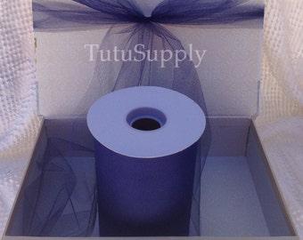 Navy Blue Tulle Roll, tulle roll, tulle fabric, tulle spool, tutu supply, wholesale tulle, tulle rolls, tutu fabric, tutu supplies