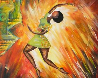 African Art- She Danced
