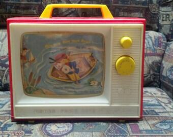 Vintage Fisher Price 2 Tune TV