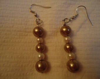 Bronze Glass Pearls