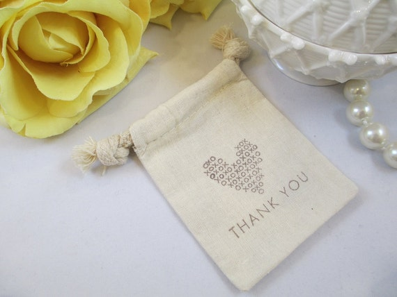 Wedding Favor Muslin Bags : Wedding Favor Bag, Muslin, Cotton Favor Bag, Muslin Favor Bag ...