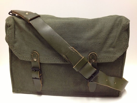 French Military Shoulder Bag 35