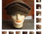 Crochet Pattern, Womens Crochet Hat Pattern, Womens Hat, Crochet Cloche Hat, MICHELLE