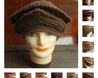 Crochet Pattern Hat,  Womens Hat Pattern,  Womens Crochet Hat Pattern,  Michelle 1920s Cloche Hat Pattern