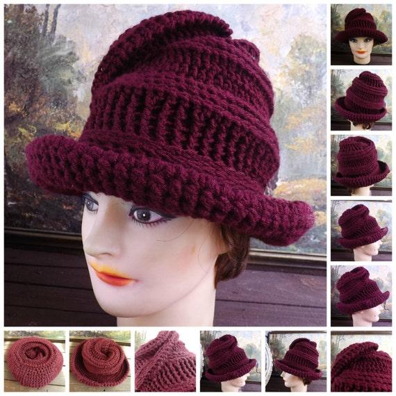 Crochet Pattern Hat for Women Womens Crochet by ...