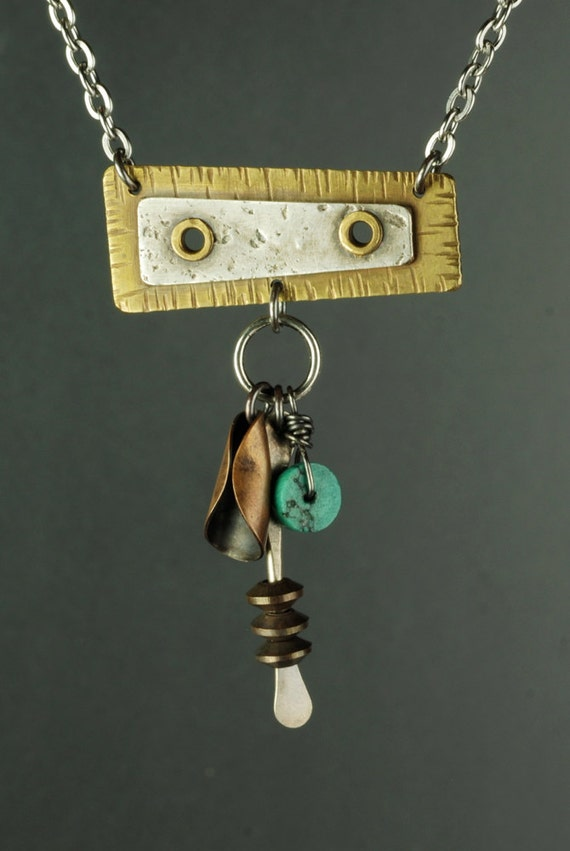 Riveted Totem Necklace