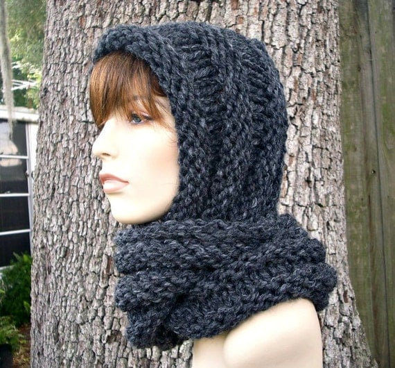 Knitting Patterns For Women s Scarf : Instant Download Knitting Pattern Knit Hat Knitting by pixiebell