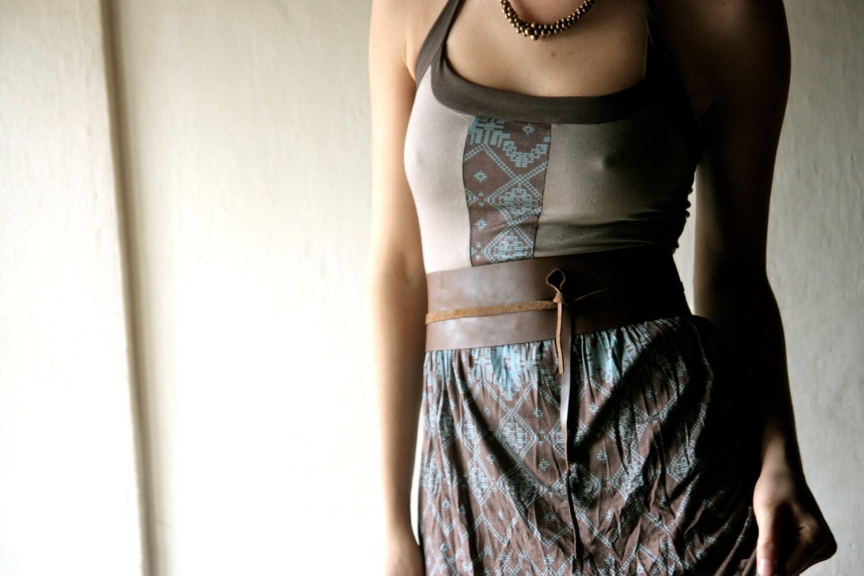 obi belt leather belt womens belt brown belt wide by