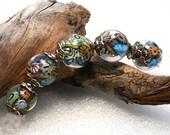 Jeanniesbeads Lampwork Beads 2371