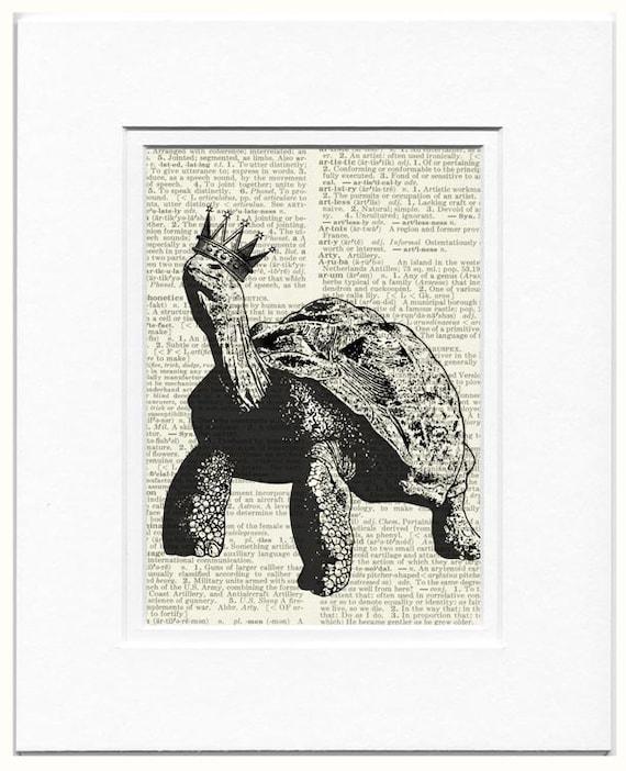 Princely turtle print