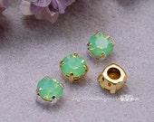Green Opal, Vintage Swaro...