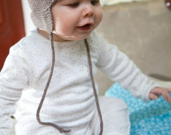 4ply Baby Hunter Hat Pattern - Baby Cakes by lisaFdesign - Download Now - Pattern PDF