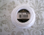 DMC 5200 White Perle Cotton Thread Size 12