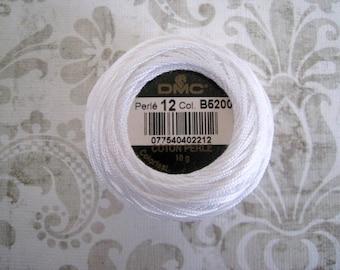 DMC 5200 White Perle Cotton Thread Size 8