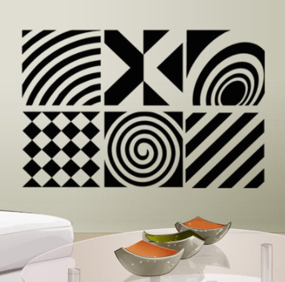 Sticker design studio create your own custom stickers - Vinyl Decals Geometric Wall Decal Patterns By Householdwords