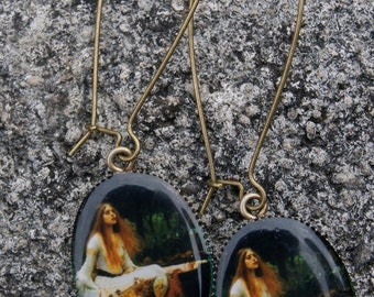 The Lady of Shalott earrings