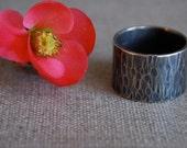 Ocean Ring, handmade in sterling silver