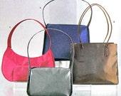 Butterick 6856 Womens Accessories Sewing Pattern Zippered Purse Handbag Shoulder Bag Uncut