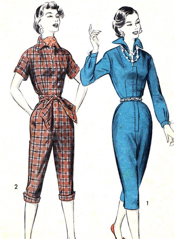 Innovative Sewing Pattern Womens JUMPER DRESS JUMPSUIT TOP Butterick 4145 Size