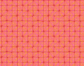 Valori Wells Flannel Karavan Quartz Geometric Ruby Fabric 40 inches LAST IN STOCK