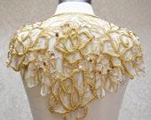 Colette Vintage Bridal Capelet