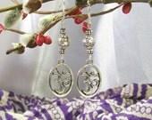 Sale were 7. Om Earrings Tolerance and Patience Mantra Prayer