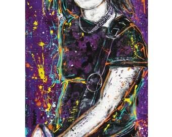 Joan Jett - Bad Reputation - 12 x 18 High Quality Art Print
