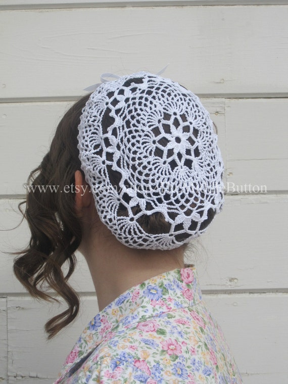 Joan - Snood - In Pure White