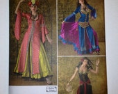 Belly Dance Bollywood Costume Sewing Pattern