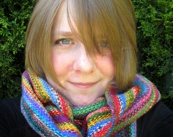 Manic Panic Cowl - Free Knitting Pattern - Digital PDF or PRINT