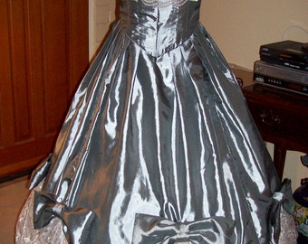 Made to Order 1860's Ball Gown
