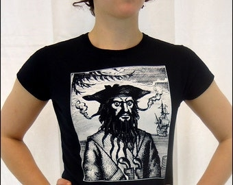 CLEARANCE-- Blackbeard womens shortsleeve tshirt