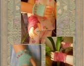 Thread Crochet Mittens For 18 Inch Dolls - Digital Pattern
