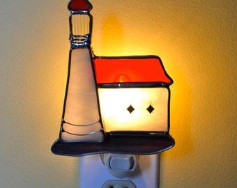 Northern Lights Lighthouse Nightlight