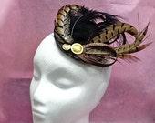 Kate Middleton Fascinator - pheasant feathers fascinator hat CARMELLA KATE