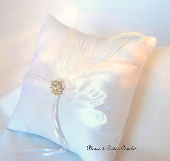 ring bearer pillow white ring bearer by pleasantridgecandles