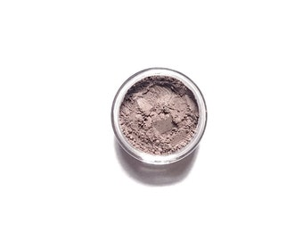 Moonlight - Mineral Eyeshadow - silver taupe sparkle  - Handcrafted Makeup