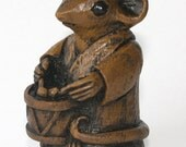 Church Mouse Musician -Drumming Mouse