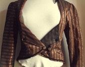 Bronze coat