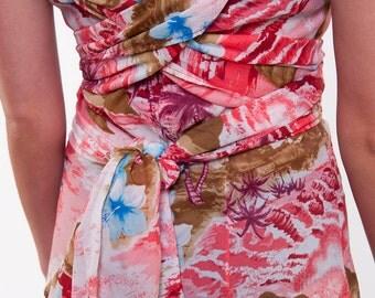 The Kawaii Hawaii Tie Dress
