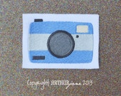 Camera, INSTANT DOWNLOAD, Embroidery Design for Machine Embroidery 4x4