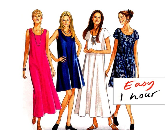 Sewing Patterns Tops Easy Easy Tent Dress Sewing Pattern