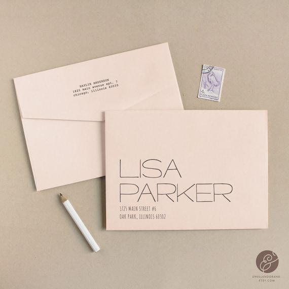 Printable wedding envelope template instant download