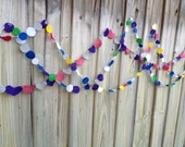 my little felt garland - you pick the style and legth