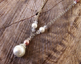 Champagne - Pearl Necklace