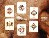 Geometric Postcard 6-pack