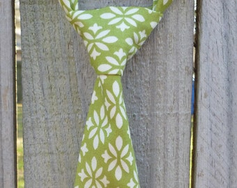 Neck Tie for Boys - Infant/Toddler/Child/Kid - Marmalade Green