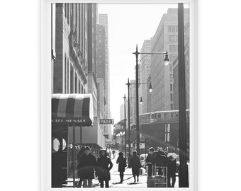 Chicago 9 (The El) // Fine Art Giclée Print // Photography